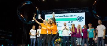 Business run Ljubljana, on September 21, 2017 in Park Tivoli, Ljubljana, Slovenia. Photo by Ziga Zupan / Sportida